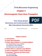 ECE440 MW Chapter_2_EM Plane Wave Propagation