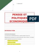 M431 - Pensées et politiques économiques