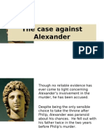 The Case Against Alexander