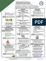 parent workshop calendar2015-16