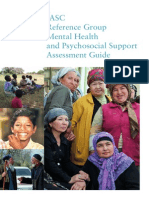 IASC Reference Group Psychosocial Support Assessment Guide