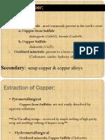 Copper Hydrometallurgy