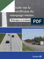 Guide Sur La Rétroréflexion Du Marquage Routier