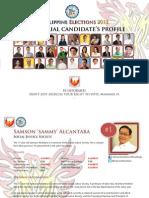 Senatoriables' Profiles PDF