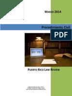 02 - Repaso Procesal Civil - Marzo 2014 - Ver. 2.