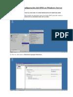 3.2. Instalación y Configuración Del DNS en Windows Server 2008