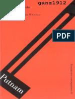PUTNAM, HILARY - Sentido, Sinsentido y Los Sentidos [Por Ganz1912]