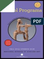 NMAfA School Programs