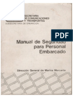 Manual de Seguridad Para Personal Embarcado