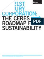 Ceres Roadmap for Sustainability 2010