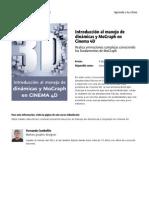 Introduccion Al Manejo de Dinamicas y Mograph en Cinema 4d