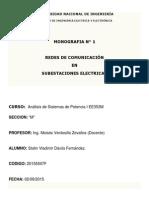 Redes de Comunicación y Automatización de Sistemas de Potencia