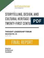 Forum 2 Final Report