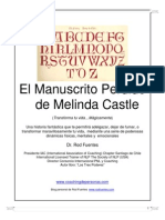 Relato y Experiencias Narradas en Este Libro Han Sido Tomdel Manuscrito Electrnico de Melin, El - Natalia Barahona