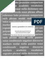 Lexico y gramática en contexto - Manual de referencia para la lectura de textos de Ciencias Sociales en Inglés