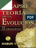 El Colapso de La Teoria de La Evolucion