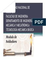Modulo Soldadura