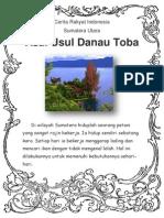 Asal Danau Toba