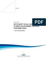 Efficient Dual Water Hybrid Scrubber Design Parameters - For Merchant Ships