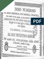 Huete Compendio Numeroso de Zifras Armonicas para Arpa de una orden, dos ordenes, y de organo