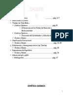Cinética Quimica - Acidos y Bases
