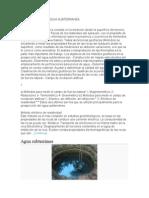 Exploración Del Agua Subterranea