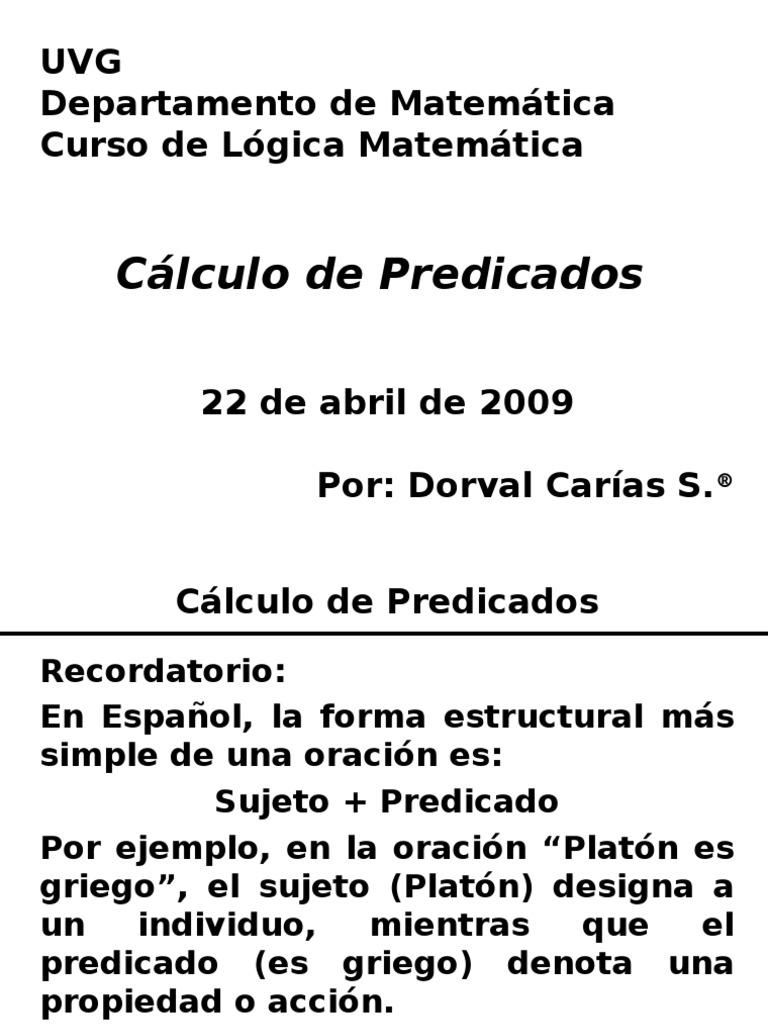 Famoso Sujeto Completo Y Hojas De Cálculo De Predicados Viñeta ...