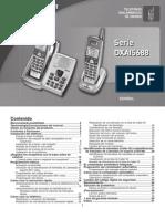 Manual Telefono Uniden 3 Receptores