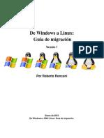 De Windows a Linux