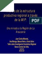 Desarrollo Regional y Local Matriz Insumo Producto Buenasoooo
