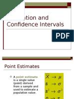 4 Confidence Intervals