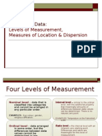 1_Measures of Location Dispersion