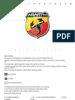 Carte Tehnica Fiat Punto EVO