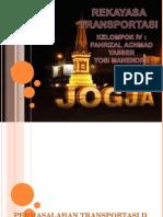 Presentasi Rekayasa Transportas di daerah yogyakarta