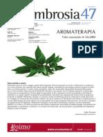 Ambrosia 47. Newsletter di medicina olistica