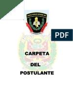 CARPETA DE POSTULANTE ADMISION LILCENCIADOS 2014.pdf