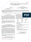 Comparative Study of Relational Database Model and Resource Description Framework RDF Model