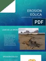 Erosión eólica