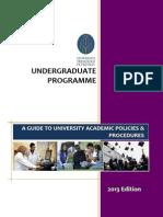 Undergraduates Handbook 2013
