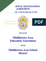 Middletown Area School District teachers contract