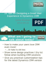 10 ux tips for crm 2015