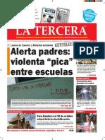 Diario La Tercera 30.09.2015