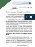 Lectura 7 -El Mundo Del Trabajo en América Latina Corregido