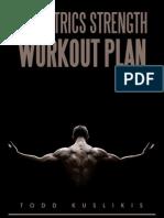 Isometrics Strength Workout Plan