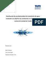 Planificación de Una Planta Piloto de Tratamiento de Aguas Residuales Con Objetivo de Reutilizaci