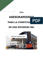 Asesoramiento para la constitución de una SRL - GRIFO