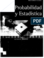 Probabilidad y Estadistica Octavio Sanchez
