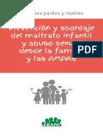 Prevencion y Abordaje Del Maltrato Infantil y Abuso Sexual Desde La Familia y Las Ampas 0
