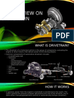 An Overview of Drivetrain