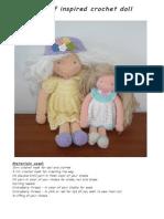 Waldorf Inspired Doll- amigurumi